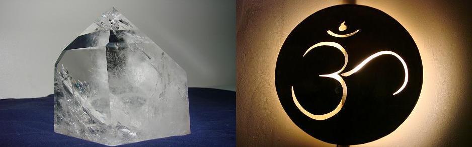 Le cristal de roche, utilisé en thérapie de l'énergie nous permet d'accéder à d'autres champs de conscience